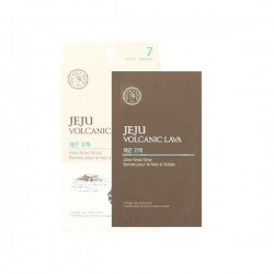 The Face Shop Jeju Volcanic Lava Ash Nose Strips Package