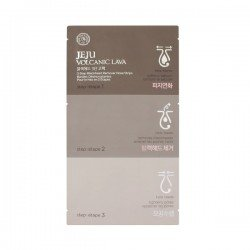 The Face Shop Jeju Volcanic Lava Blackhead 3 Step Nose Pack