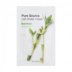 MISSHA Pure Source Cell Sheet Mask [Bamboo]