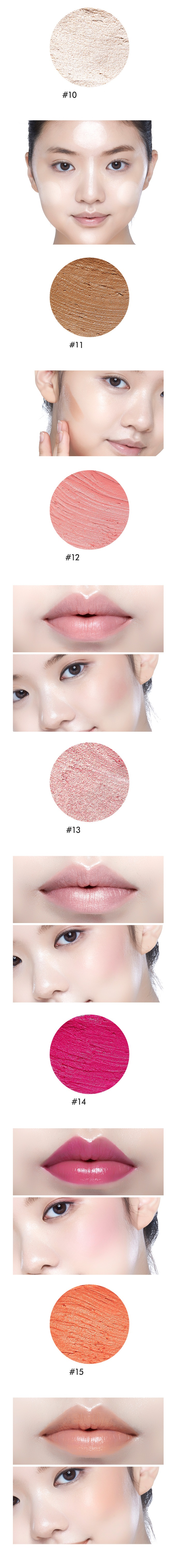 Korean cosmetics - ETUDE HOUSE Play 101 Stick Multi Color (5 Colors