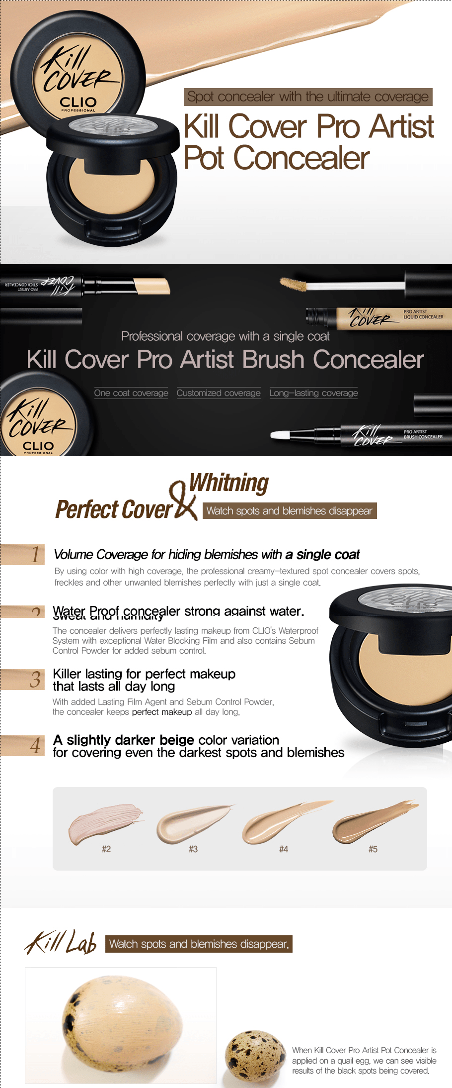 CLIO Kill Cover Artist Pot Concealer