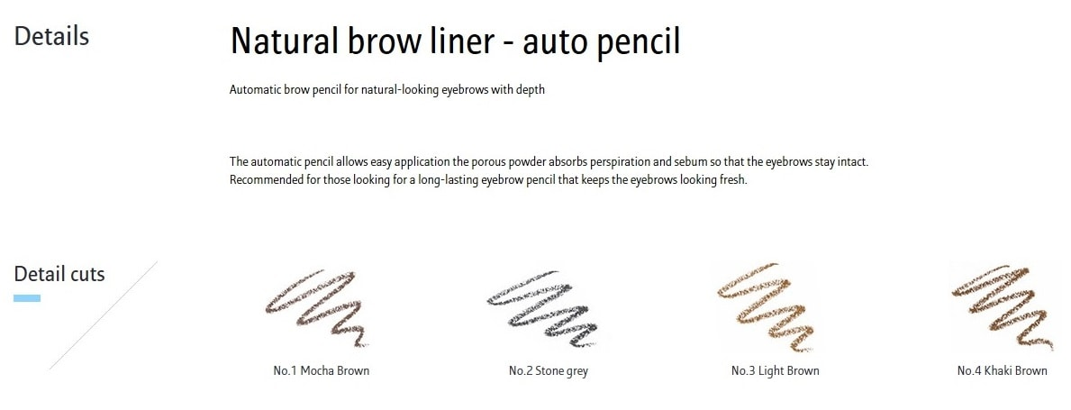 LANEIGE Natural Brow Liner [02 Stone Gray]