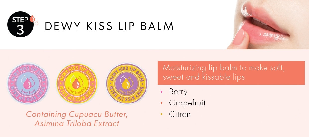 MISSHA The Style Dewey Kiss Lip Balm [Citron]