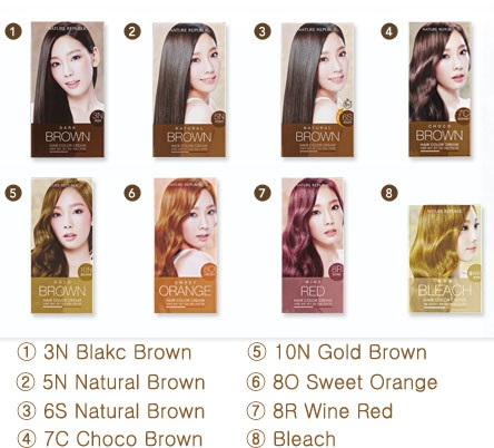 NATURE REPUBLIC Hair & Nature Hair Color Cream (3N Dark Brown)