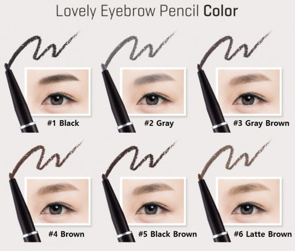 Tony Moly Lovely Eyebrow Pencil