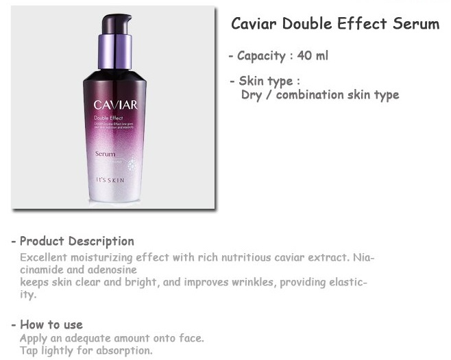 Its Skin Caviar Double Effect Serum 40ml