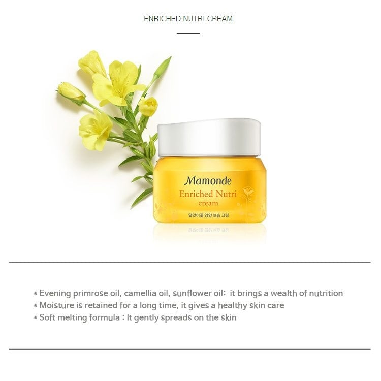 Mamonde Enriched Nutri Cream 50ml