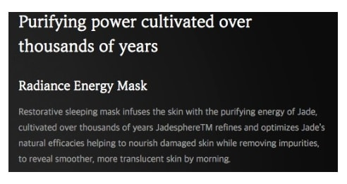 SULWASHOO Radiance Energy Mask 80ml