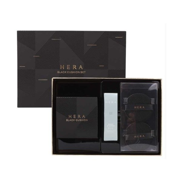 HERA Black Cushion Special Set