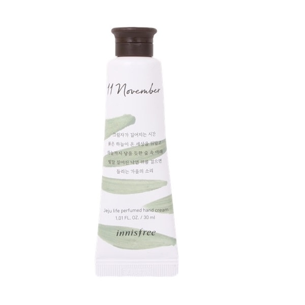 INNISFREE Jeju Perfumed Hand Cream 30ml - No.11 Autumn Leaves