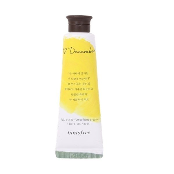 INNISFREE Jeju Perfumed Hand Cream 30ml - No.12 Citron Tea