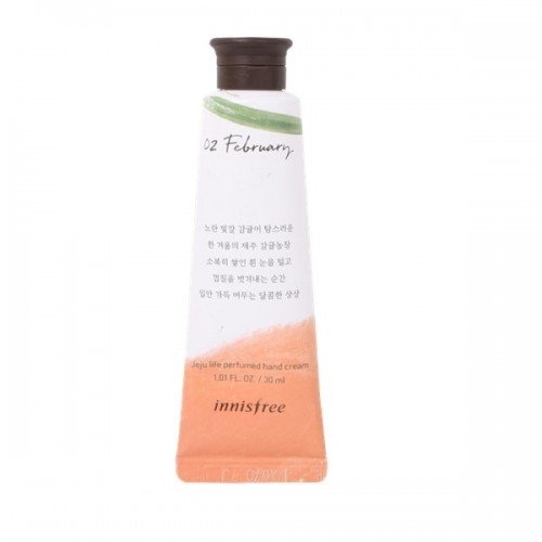 INNISFREE Jeju Perfumed Hand Cream 30ml - No.2 Citrus Farm