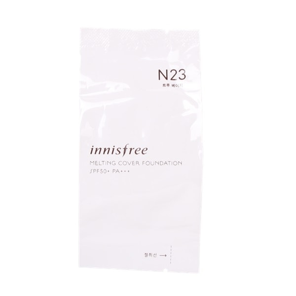 INNISFREE Melting Cover Foundation Refill 14g - N23 True Beige