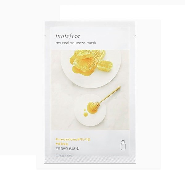 INNISFREE My Real Squeeze Mask - Manuka Honey