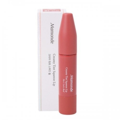 MAMONDE Creamy Tint Squeeze Lip [#1 Let's Red]