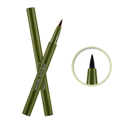 NATURE REPUBLIC By Flower Hard Eyeliner [01 Black]