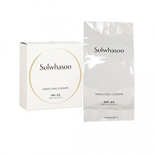SULWHASOO Perfecting Cushion SPF50+ PA+++ with Refill (#23 Medium Beige)
