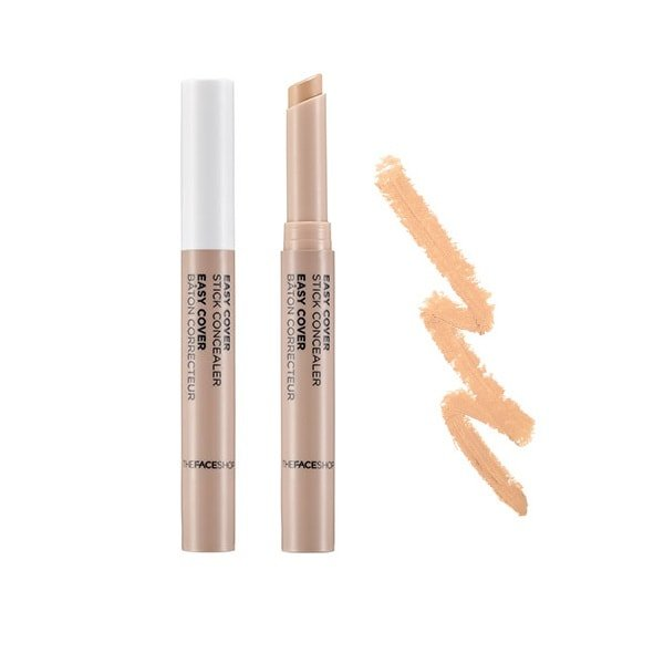 THE FACESHOP Easy Cover Stick Concealer - N203 Natural Beige