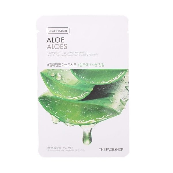 THE FACESHOP Real Nature Mask Sheet Aloe