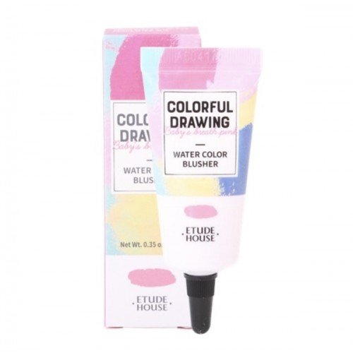 ETUDE HOUSE Colorful Drawing Paint Blusher [PK002 Pink Flower]