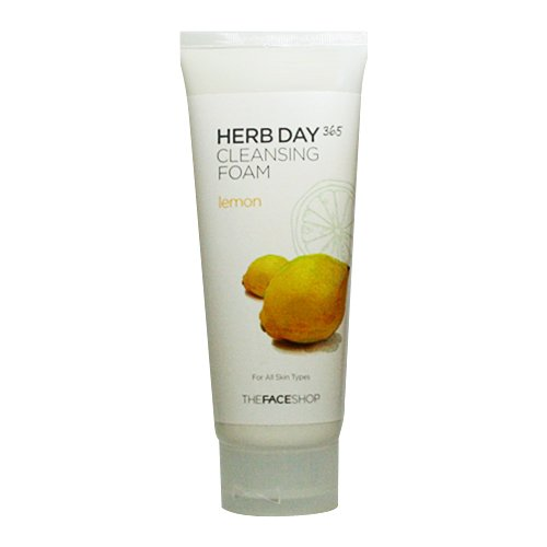 The Face Shop Herb Day 365 Cleansing Foam Lemon (170ml)