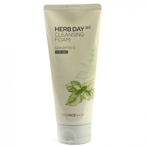 The Face Shop Herb Day 365 Cleansing Foam Sphere Mint (50ml)