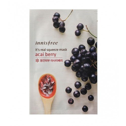 Innisfree It's Real Squeeze Mask Acai Berry (1EA)