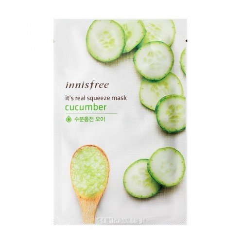 Innisfree It's Real Squeeze Mask Cucumber (5EA) [20ml]