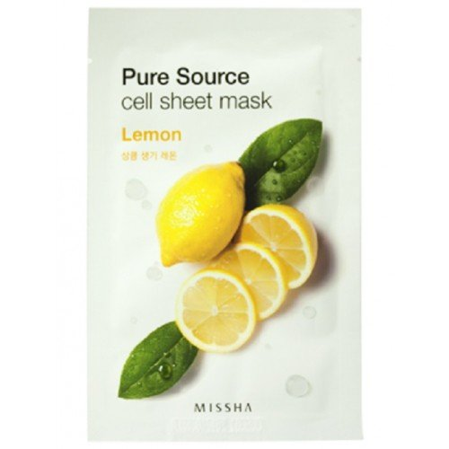 MISSHA Pure Source Mask Sheet Lemon (5 Sheets)
