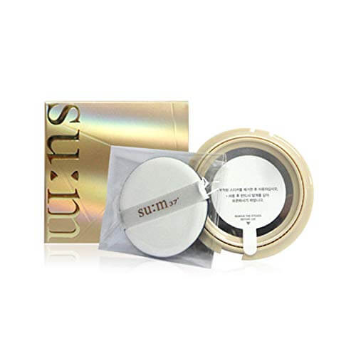 SU:M37° Air Rising TF Glow Cover Metal Cushion SPF50+/PA+++ No.2 Natural Beige