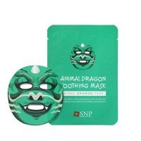 SNP Animal Dragon Soothing Mask [10 Sheets]