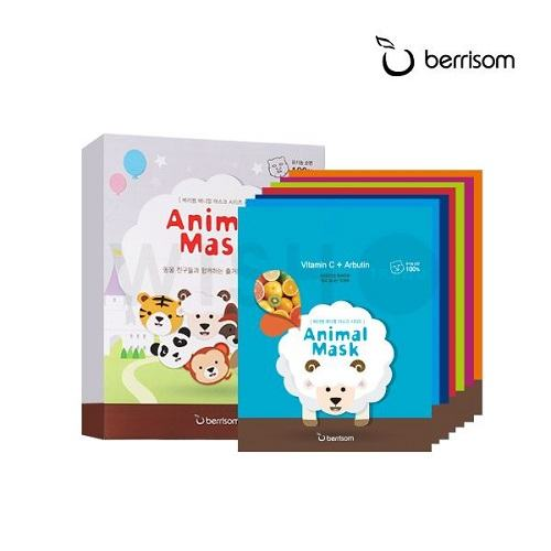 Berrisom Animal Mask 7 Series - Set (175)ml