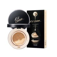 CLIO Kill Cover Liquid Founwear Cushion (SPF50+,PA++) + Refill - 3 Colors