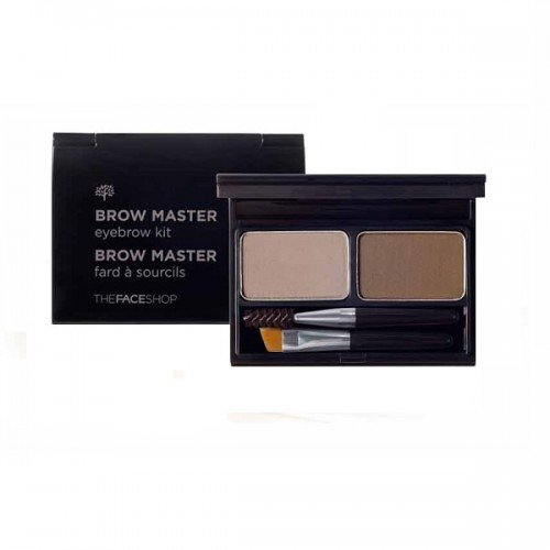 The Face Shop Brow Master Eyebrow Kit [02 Grey Brown]