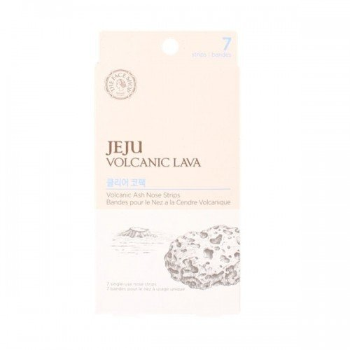 The Face Shop Jeju Volcanic Lava Clear Nose Strips Package 7pcs