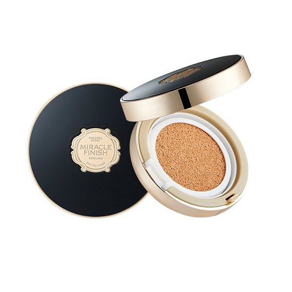 The Face Shop Miracle Finish CC Long Lasting Cushion SPF50+/PA+++