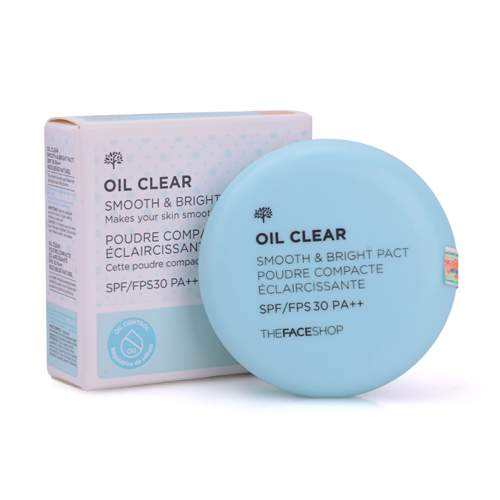 The Face Shop Oil Clear Smooth & Bright Pact SPF30/PA++
