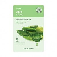The Face Shop Real Nature Mask Aloe (5 Sheets *20g)