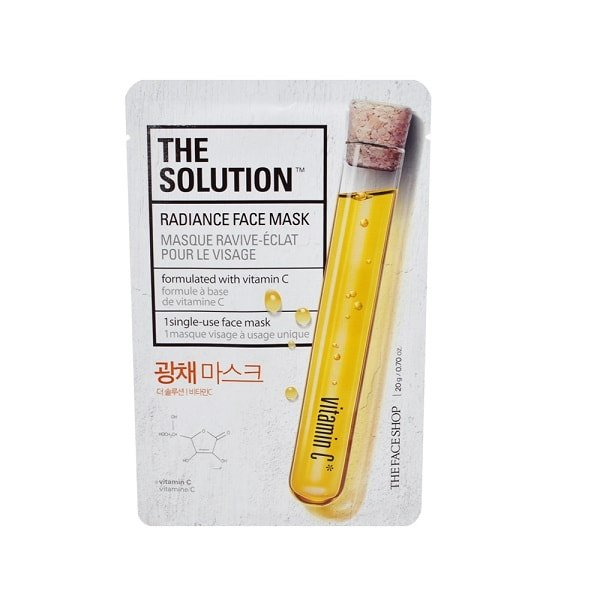 The Face Shop The Solution Mask Sheet [Radiance]