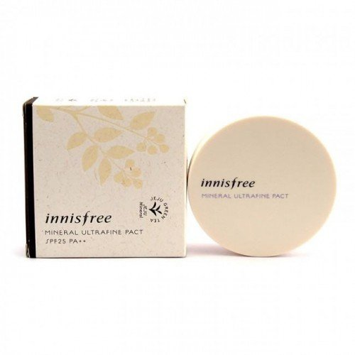 Innisfree Mineral Ultrafine Pact (SPF25/PA++) - 3 Colors
