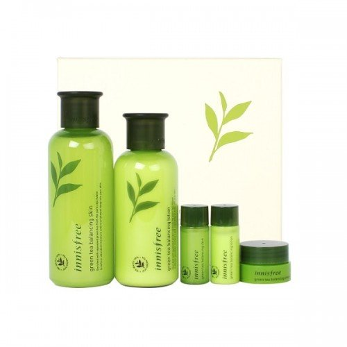 INNISFREE Green Tea Balancing Skin Care Set