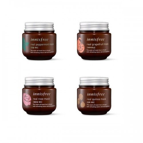 INNISFREE Real Peppermint Mask 3 Types