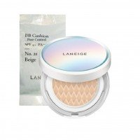 Laneige BB Cushion Pore Control (SPF50+,PA+++) [With Refill] - 5 Colors