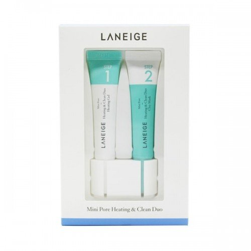 LANEIGE Mini Pore Heating & Clean Duo Clay Mask