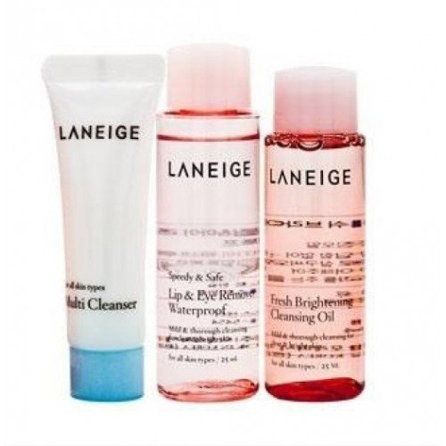 Laneige New Cleansing Trial Kit - 3 Items [Perfect Cleansing Set]