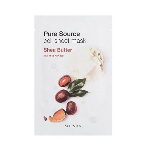 MISSHA Pure Source Cell Mask Sheet Shea Butter - 5Sheets