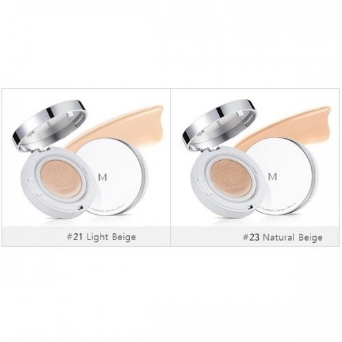 MISSHA M Magic Cushion Moisture Special Package Original + Refill SPF50+/PA+++ [#21 Light Beige]