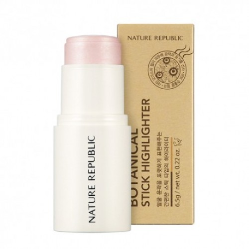 NATURE REPUBLIC Botanical Stick Highlighter - No.01 Shine Pink