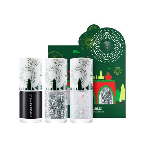 Nature Republic Color And Nature Holiday Party Nail Kit