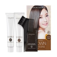 NATURE REPUBLIC Hair & Nature Hair Color Cream (6S Natural Brown)